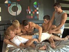 Free gay sex orgy porn movie